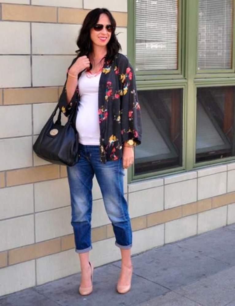 Kimonos para embarazadas