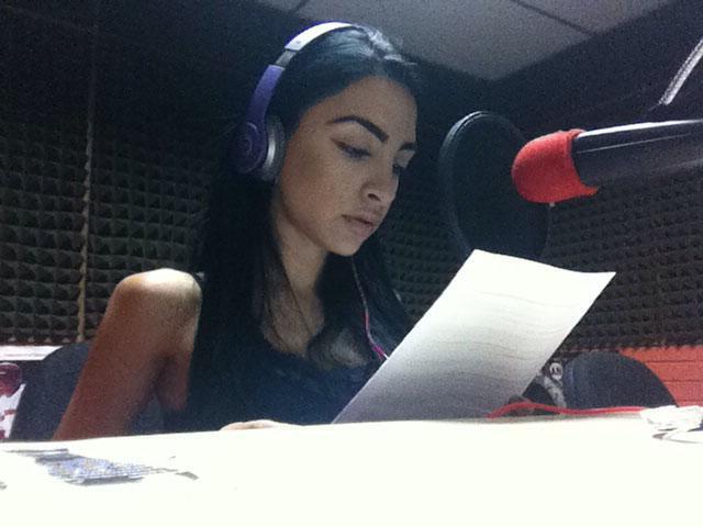 Marjori Haddad, locutora