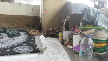 Yosmar Molina cumple 4 años viviendo con su familia en la calle
