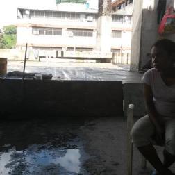 Yosmar Molina tiene 4 años viviendo con su familia en las calles