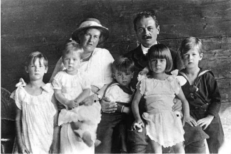 Verdadera familia Von Trapp. Foto: Cortesía