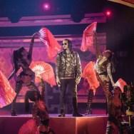 Ozuna cerrando los premios Latin American Music Awards/ Foto: Cortesía