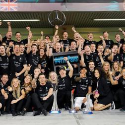 Escudería Mercedes 2017 F1 Hamilton Bottas (7)