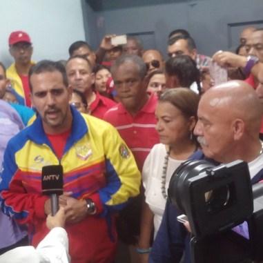 Inscriben en Vargas candidato del PSUV