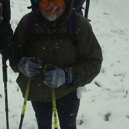 Fueron cientas las excursiones que Jesús Sánchez guió por las montañas andinas