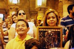 Feligreses venezolanos en Santiago de Chile celebraron la bajada de La Chinita