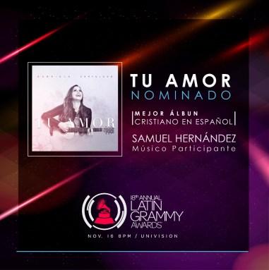 Samuel Hernandez, productor y pianista venezolano