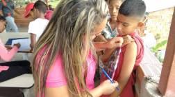 Niños cuentan con nutricionistas en el porgrama Alimenta la Solidaridad Foto: Prensa Capriles