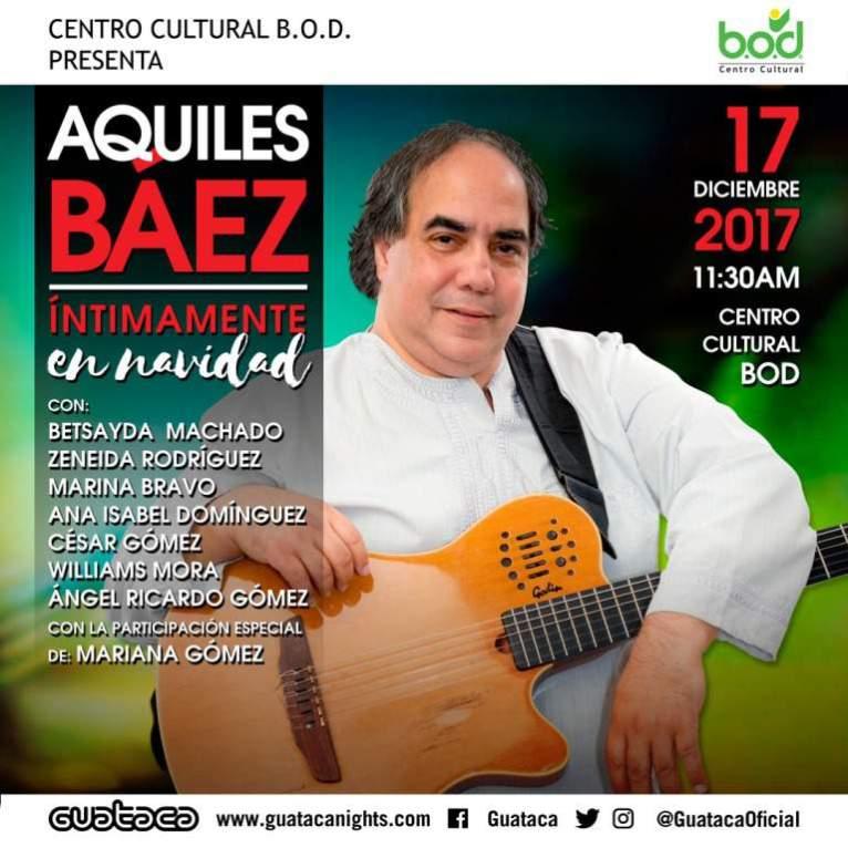 Aquiles Báez, músico venezolano