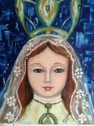 Marielba Marcano, la pintora de las Vírgenes de Margarita 3