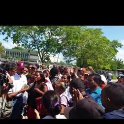 Protestas en Bolívar Foto: Cortesía NDP