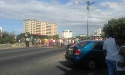 Protestas en Macuto