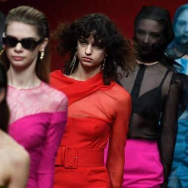 Semana de la Moda en Londres, junto al diseñador Emilio de la Morena/ Foto: EFE