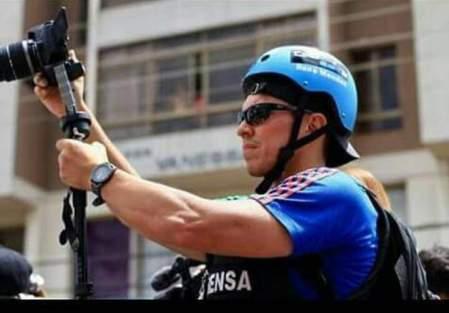 Daniel Cáceres, periodista