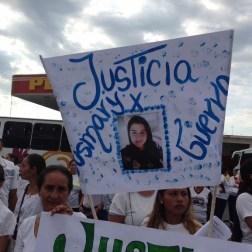 El pueblo de Arapuey, al norte del estado Mérida, exigieron justicia por sus familiares muertos y heridos en manifestaciones por comida 10