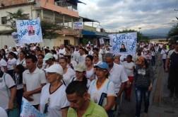 El pueblo de Arapuey, al norte del estado Mérida, exigieron justicia por sus familiares muertos y heridos en manifestaciones por comida 17