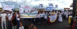 El pueblo de Arapuey, al norte del estado Mérida, exigieron justicia por sus familiares muertos y heridos en manifestaciones por comida 18