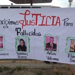 El pueblo de Arapuey, al norte del estado Mérida, exigieron justicia por sus familiares muertos y heridos en manifestaciones por comida 19