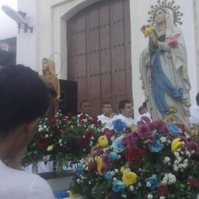 Peregrinación 134 de Virgen de Lourdes en Vargas 4