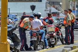 Policía de Chacao operativo de motorizados