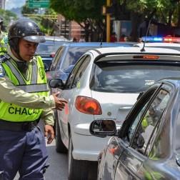 Policías de Chacao