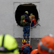 Rescatistas buscan supervivientes en seísmo con 7 muertos y 76 desaparecidos/ Foto: EFE