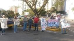 Protesta en Guaicay