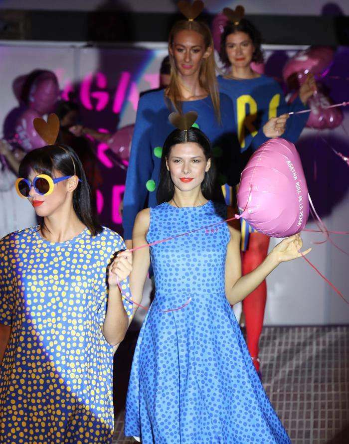 6380fde0cb Ágatha Ruiz de la Prada muestra en Uruguay desfile