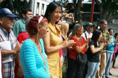 Mujeres celebran su día