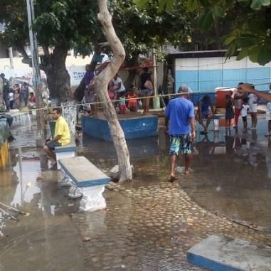 Lluvias en Choroní y Ocumare de la Costa, estado Aragua