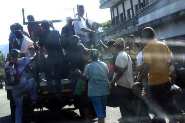 Transporte en el Táchira