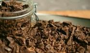 El chocolate es usado en decoraciones