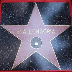 Estrella de Eva Longoria en el Paseo de la Fama/ Foto: EFE