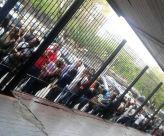 En el consulado de Chile en Puerto Ordaz, estado Bolívar, las colas fueron largas / Foto: Cortesía