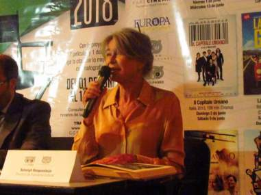 Solveig Hoogesteijn, directora de Trasnocho Cultural