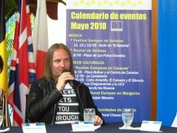 El guitarrista polaco, Radek Chwieralski, dará inicio al festival con un concierto de lujo en la sede de El Sistema/ Foto: Albermary Aponte