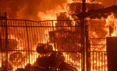 Incendios en EEUU