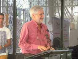 El director del Museo Nacional de Arquitectura, Alejandro López