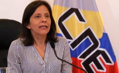 Sandra Oblitas es vicepresidenta del Consejo Nacional Electoral (CNE) y presidenta de la Comisión de Registro Civil y Electoral. Es también responsable de las actividades del CNE que han menoscabado la democracia en Venezuela, en particular al facilitar la institución de la Asamblea Constituyente y manipular el proceso electoral