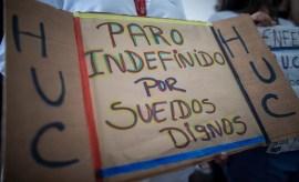 conflicto protesta salud salario enfermeras medicos efe