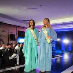 Ganadoras de las bandas Miss Fotogénica y Miss Prensa/ Foto: Laura Martínez