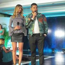 Alyz Henrich y Prince Julio Cesar/ Foto: Laura Martínez