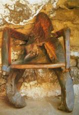 Angel pintado en su cuarto, 1991 001