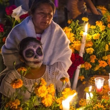 Día de los muertos, tradición mexicana/ Foto: Referencial