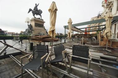 cafés al aire libre se han visto afectados/Foto: EFE
