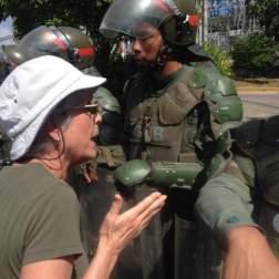 Guardia Nacional no deja pasar a manifestantes