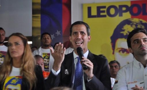 Juan Guaidó/Foto: Lisandro Casaña
