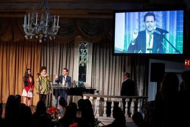 Marc Anthony es galardonado en Harvard / Foto: EFE