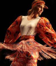 Mariam Habach en la Miami Fashion Week, diseño de Daniella Batlle/ Foto: Instagram