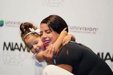 Kerly Ruiz junto a su hija Gail en el Miami Fashion Week/ Foto: Instgram
